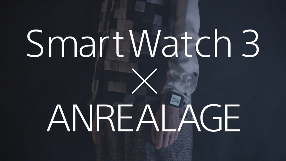 Sony SmartWatch3 X PARCO MEETSCALSTORE