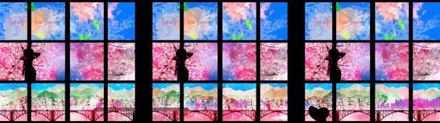 """SKYTREE ROUND THEATER """"Spring movie"""""""